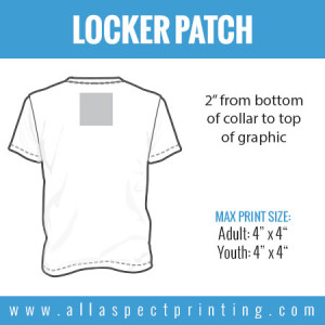 All Aspect Printing - Locker Patch