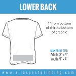 All Aspect Printing - Lower Back
