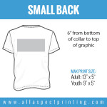 All Aspect Printing - Small Back