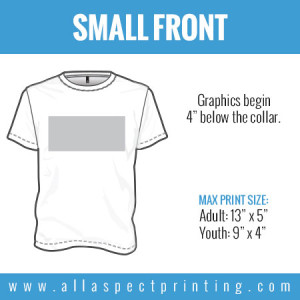 All Aspect Printing - Small Front
