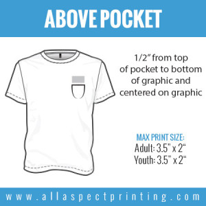 All Aspect Printing - Above Pocket