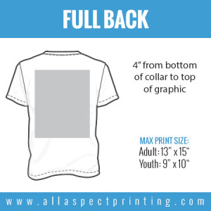 All Aspect Printing - Full Back