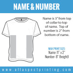All Aspect Printing - Name & Number