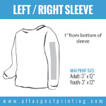 All Aspect Printing - Left / Right Sleeve