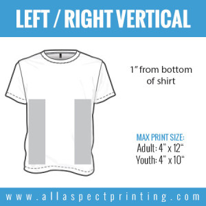 All Aspect Printing - Left / Right Vertical